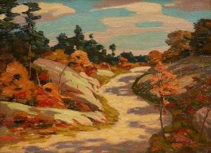 Artwork by George Thomson, Highway to Espanola