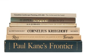 Artwork by  Books and Reference, Selection of Six Books on Historical Canadian Art