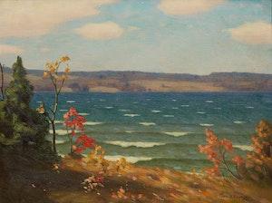 Artwork by George Thomson, A Northwestern Breeze