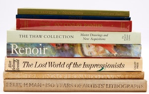 Artwork by  Books and Reference, Selection of Eight Books on Historical European Art