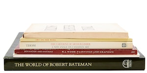 Artwork by  Books and Reference, Selection of Six Books and Exhibition Catalogues of Canadian Art
