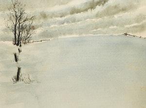 Artwork by Doug Hook, First Snow