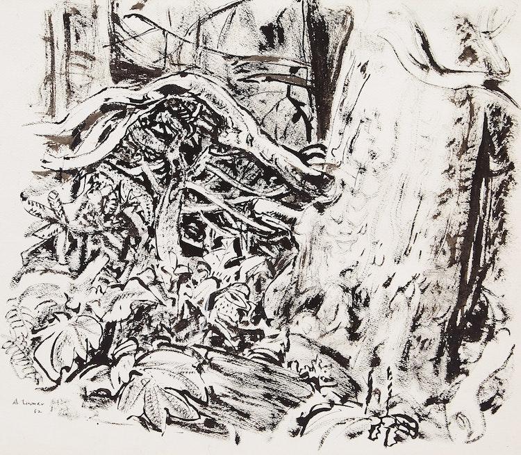 Artwork by Arthur Lismer,  Untitled (Tree Study)