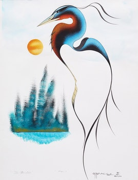 Artwork by Garnet Tobacco, The Otherside / Heron