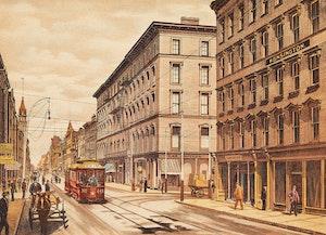 Artwork by  Hough & Harris Co. Ltd. , Six Historical Prints