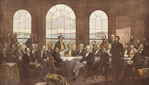 Artwork by  19th Century Canadian School, The Fathers of Confederation