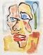 Thumbnail of Artwork by Harold Klunder,  Untitled (Portrait)