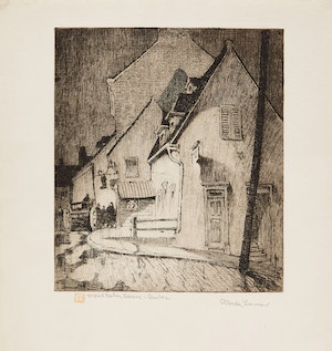 Artwork by Stanley Francis Turner, A Selection of Eight Works depicting Quebec