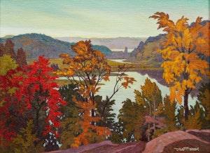 Artwork by Richard Ferrier, Ottawa Valley