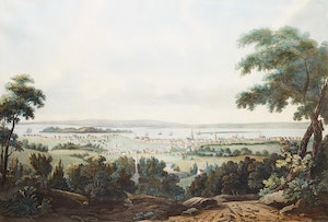 Artwork by  After Edward Walsh, A View of the City of Montreal