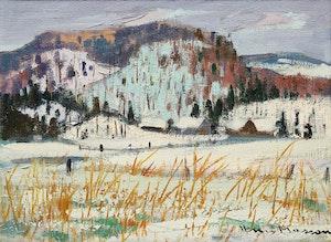 Artwork by Henri Leopold Masson, Near Lake Wakefield