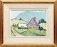 Thumbnail of Artwork by Albert Rousseau,  Village Landscape