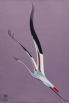 Artwork by D.H. Ashkawe, Ascending