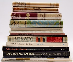 Artwork by  Books and Reference, Eighteen Canadian Art Reference Books