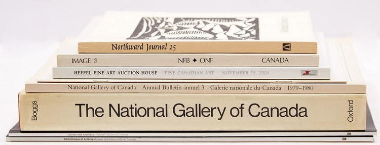 Artwork by  Books and Reference,  Canadian Art Reference Materials - Eight Books and Journals
