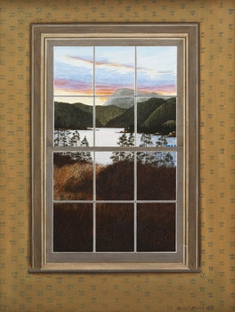 Artwork by Michael French, Tankettles (Sunset & Window)