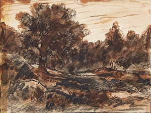 Artwork by Homer Ransford Watson, Untitled - Forest Landscape