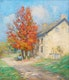 Thumbnail of Artwork by Mary Alberta Cleland,  Road to the Country House