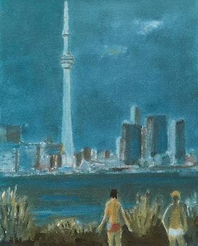 Artwork by Jean Paul Lemieux, Toronto (Ontario)