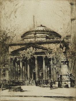Artwork by Herbert Raine, Place des Armes