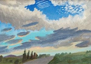 Artwork by Philip Henry Howard Surrey, Sky Study, Shawbridge East