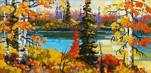 Artwork by Rod Charlesworth, Northern Ontario Shores