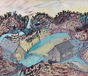 Artwork by Arthur Villeneuve, Le Cultivateur