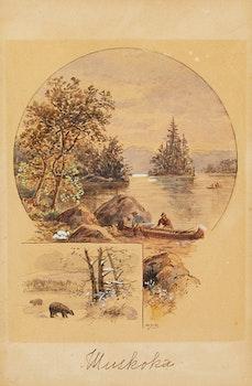 Artwork by William Daniel Blatchly, Muskoka