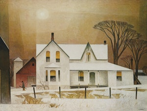 Artwork by Alfred Joseph Casson, Winter Sun; Sun After Thunder; Morning on the Key River