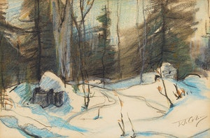 Artwork by Frederick Simpson Coburn, Country Road