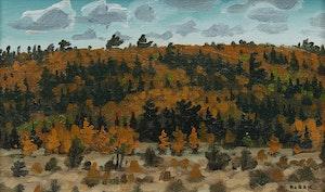 Artwork by Bruno Joseph Bobak, Long's Creek