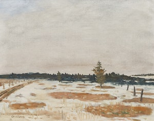 Artwork by Stanley Morel Cosgrove, Paysage d'hiver