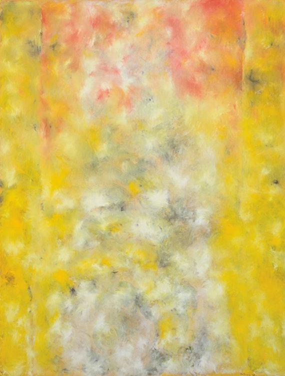 Artwork by Jean Albert McEwen,  Rose traversant les jaunes