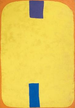 Artwork by William Paterson Ewen, Yellow Field