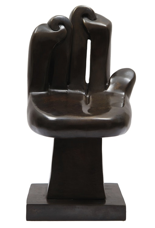 Artwork by Sorel Etrog,  Small Chair (Hand)
