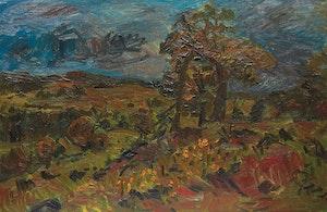 Artwork by William Goodridge Roberts, Laurentian Landscape, 1961