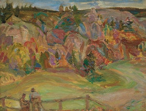 Artwork by Frederick Horsman Varley, Gatineau County