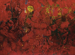 Artwork by William Perehudoff, Abstraction
