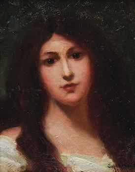 Artwork by Marc-Aurèle de Foy Suzor-Coté, Loretta