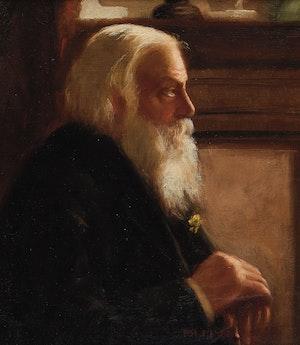 Artwork by Florence Helena McGillivray, Portrait of a Gentleman