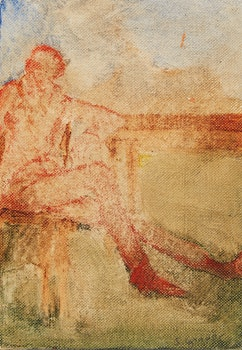 Artwork by Sherry  Grauer, Seated Figure; Selection of Five Prints