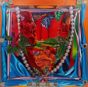 Artwork by John Hall, Cracker