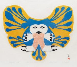 Artwork by Eliyahkota Samualie, Imaginary Bird