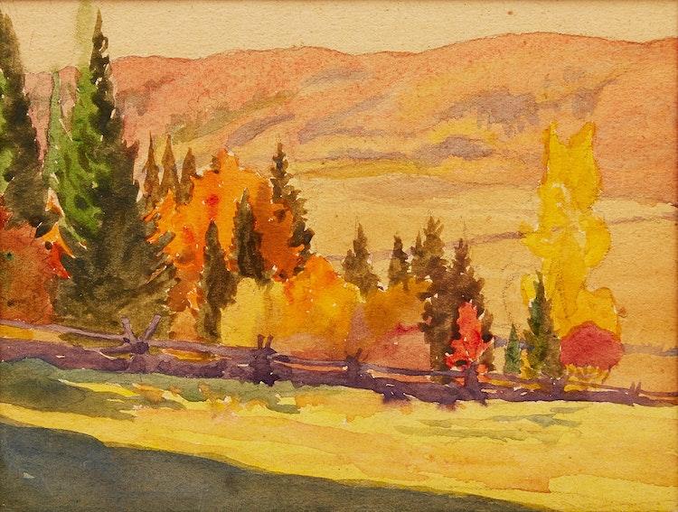 Artwork by Herbert Sidney Palmer,  Haliburton, Ont.