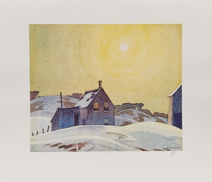 Artwork by Alfred Joseph Casson, A.J. Casson: The Group of Seven Commemorative Anniversary Suite; Folio Two: Watercolours