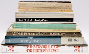 Artwork by  Books and Reference, Fifteen Canadian Art Reference Books