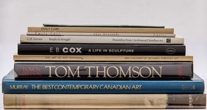 Artwork by  Books and Reference, Nine Canadian Art Books
