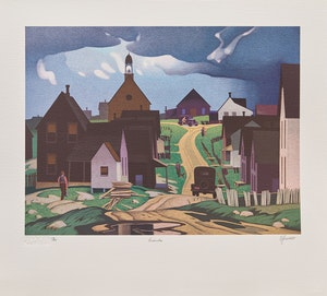 Artwork by Alfred Joseph Casson, A.J. Casson: The Graphic Works