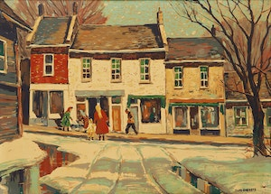 Artwork by Thomas Keith Roberts, Main Street