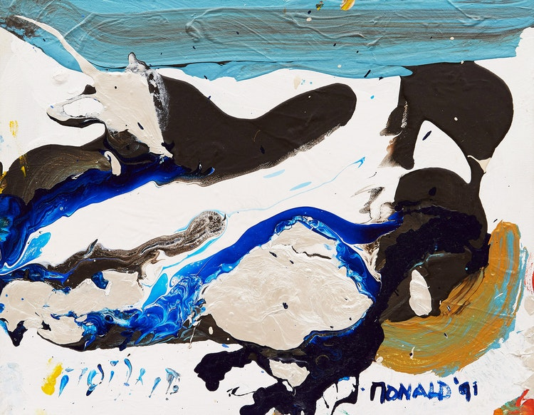 Artwork by William Ronald,  Abstract Composition